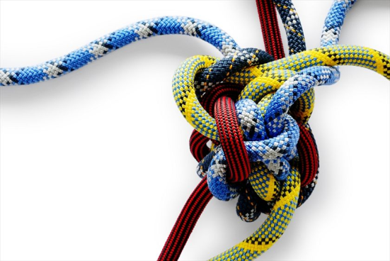 complexity knotted rope